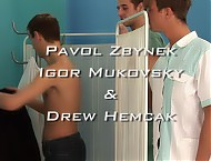 Drew Hemcak gay clinic examination