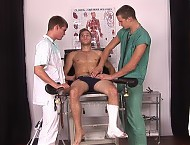 Walter, Vladimir and Jarmil gay clinic examination